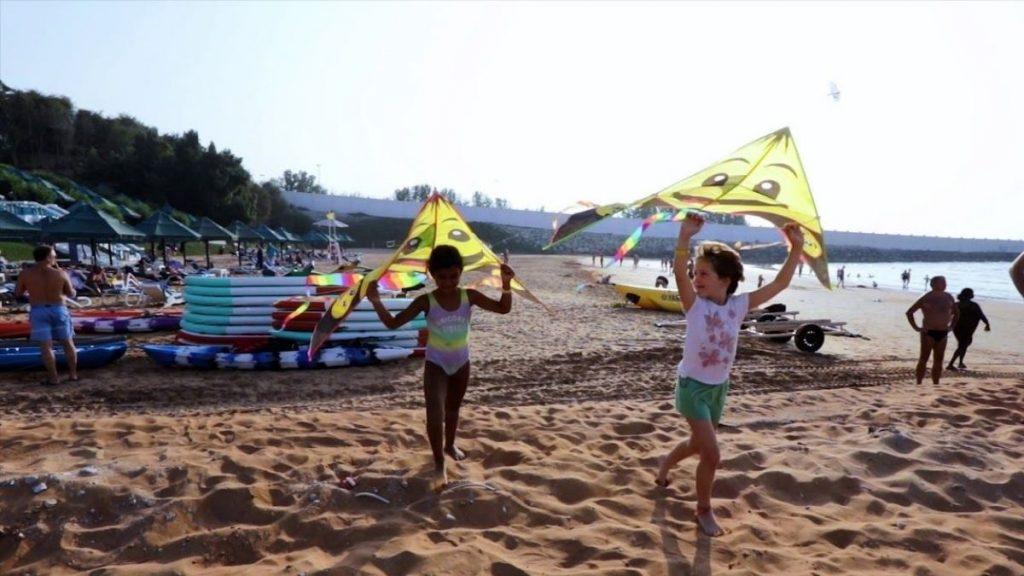 Kids Activities Long Beach Campground Ras Al Khaimah