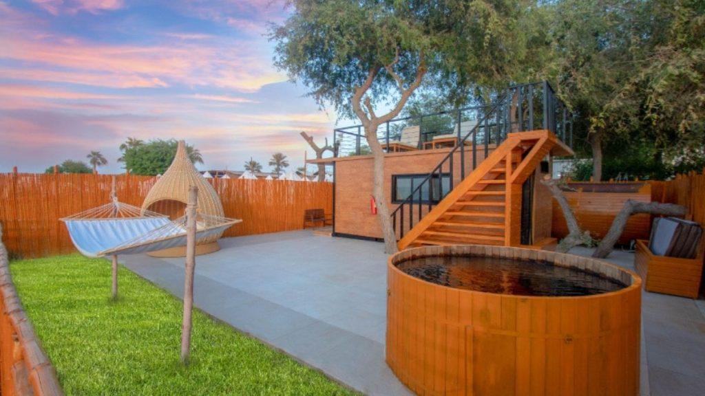 Sunset Terrace Suite Tent
