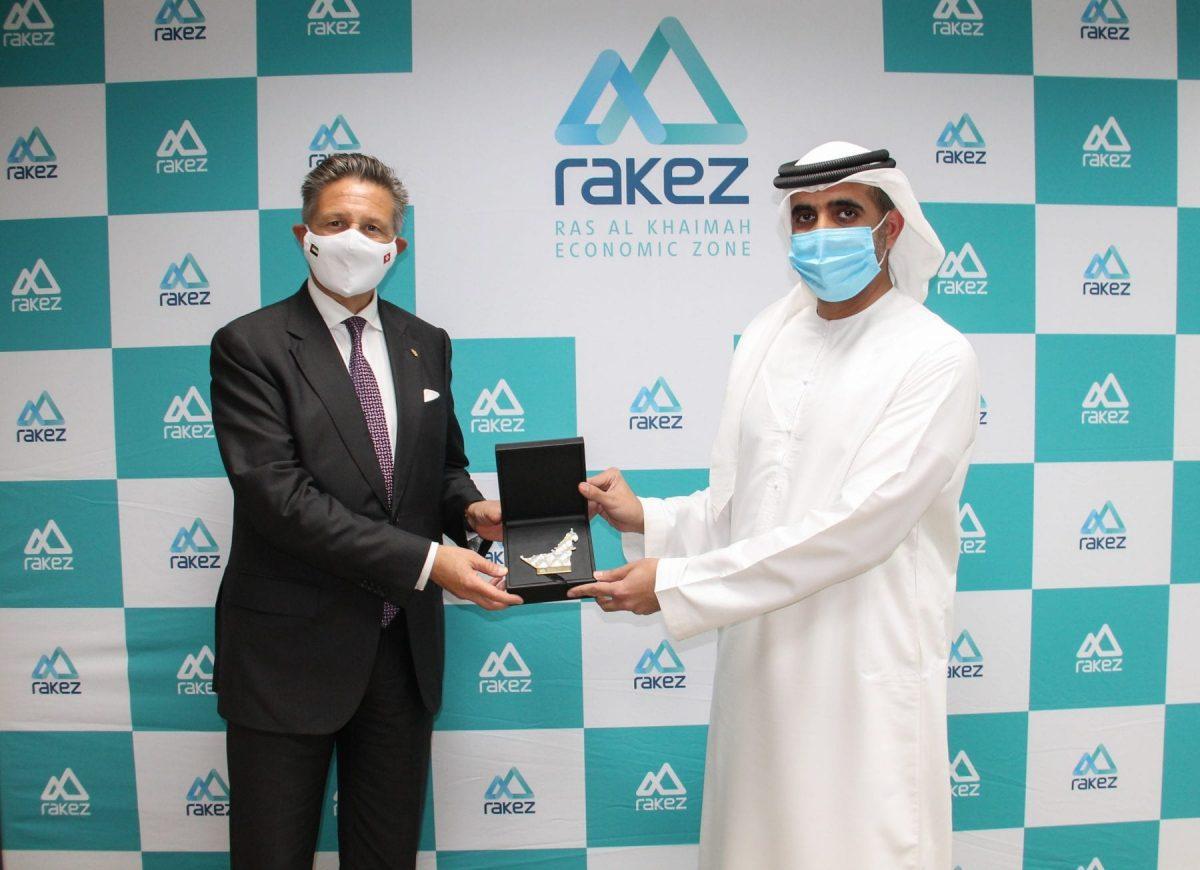 Swiss Ambassador visits RAKEZ