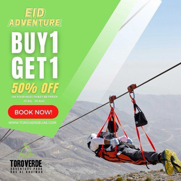 Jebel Jais Zipline Offer