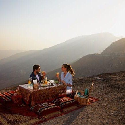 Things to do in Ras Al Khaimah Jebel Jais Picnic