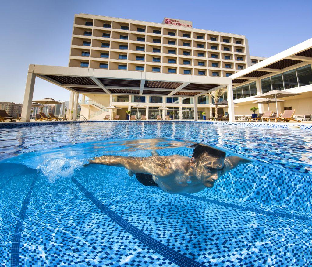 Dive Into Pool Day Season At Hilton Garden In Ras Al Khaimah