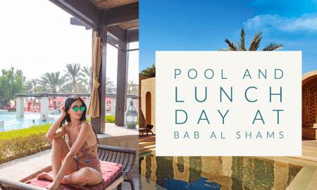 bab al shams pool day