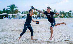 Stay in Shape with Hilton RAK Beach Resort fitness classes