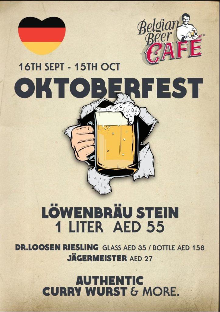 Oktoberfest at Belgian Cafe Ras Al Khaimah